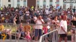 На площади Ленина в Симферополе состоялся концерт