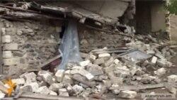 Ադրբեջանցիների կրակոցներից փլվել է բազմազավակ ընտանիքի տունը