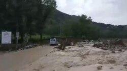 Наводнение в горном Дагестане