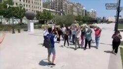 Բաքվում բողոքի ցույց է անցկացվել քաղբանտարկյալներին ազատ արձակելու պահանջով