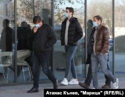 Zingarevics (j) látogatást tesz Plovdivban