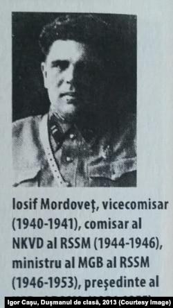 Iosif Mordoveț (Sursă: Igor Cașu, Dușmanul de clasă, 2013)