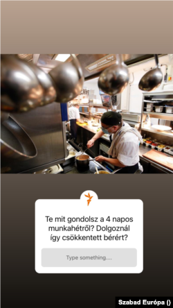 A Szabad Európa Instagram-oldala