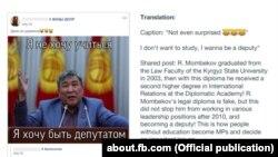 Facebook Qirg'iziston segmentida haqiqatan ham ko'plab siyosiy trollar ishlashini tasdiqlagan
