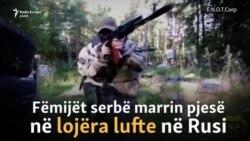 Të rinjtë serbë stërviten në kampin paramilitar rus