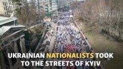 Ukrainian Nationalists March In Kyiv