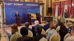 Зеленський на саміті Україна-ЄС: Зупинити війну можна єдиною «зброєю» – дипломатією (відео)