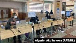 Бишкектеги добушканалардын бири. 11-апрель, 2021-жыл.