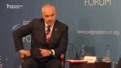 Albanian PM Calls For Serbia To Recognize Kosovo