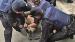 Activists Arrested Near Russian Consulate In Odesa