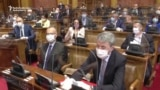 Serbian Parliament Resumes Sitting Amid Pandemic With Gloves, Masks, Shields
