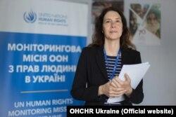 «Людям необхідно перетинати лінію зіткнення. Навіть під час пандемії люди мають основні потреби: хворі потребують доступу до основних медичних послуг, членам родин потрібно бачитися, а людям літнього віку потрібен доступ до пенсій», – наголосила Матільда Богнер, голова Моніторингової місії ООН з прав людини в Україні