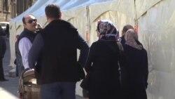 Iran azərbaycanlıları Novruzu Bakıda qarşılayır