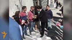 أول احتفال بعيد الفصح في مدينة حمص القديمة منذ 3 سنوات