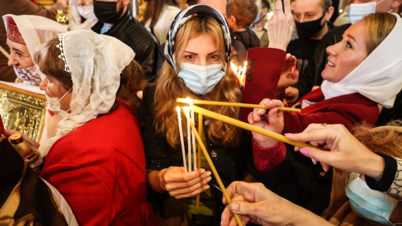 Orthodox Christians Mark Second Easter Under Pandemic Restrictions