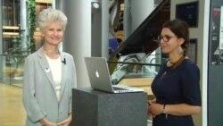 În direct de la Strasbourg: Anna Maria Corazza Bildt