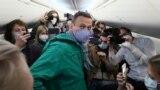 Алексей Навалний шоми 17-уми январ аз Олмон баргашт