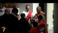 المسيحيون في الحلة يحتفلون بعيد الميلاد