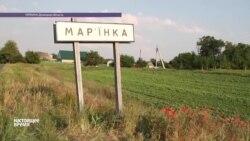 Жители Марьинки приходят в себя после обстрела