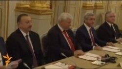 Армения мен Әзербайжан президенттері Парижде кездесті