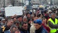 Protest bivših vojnika OSBiH, 5.4.2012.