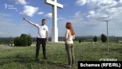Туризмознавець Максим Адаменко запросив журналістів до етнічного угорського села Дерцен Мукачівського району