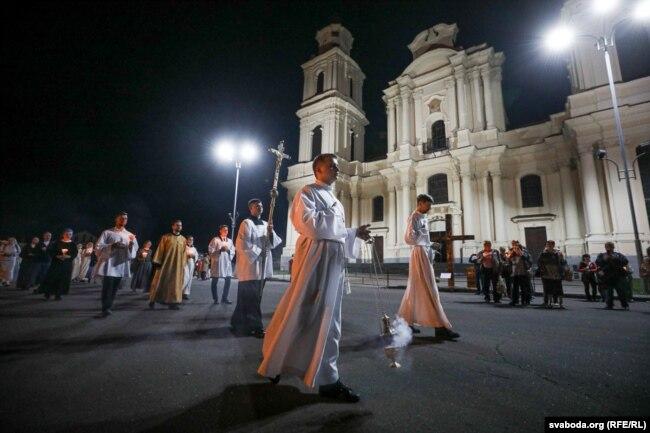 Каталіцкі фэст у Будславе