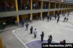 Голосование в Ла-Пасе. В стране по-прежнему действует общенациональный карантин из-за эпидемии COVID-19. 18 октября