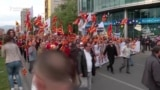 Macedonia Protesters Demand EU 'Respect'