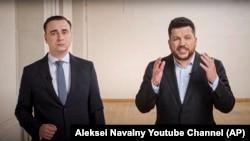 Иван Жданов и Леонид Волков
