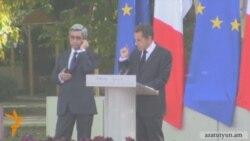 Ֆրանսիայի նախագահը հայերեն արտաբերեց «ցեղասպանություն» բառը