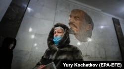 Moskva metrosu, arxiv fotosu