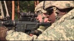 ABŞ desantları Litvada hərbi təlimdə iştirak edir