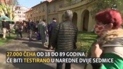 Češka: Testiranje 27.000 ljudi