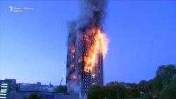 Лондон: Настрадани и повредени во пожар во висококатница