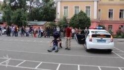 Saakashvilinin polis təlimi