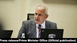 Ministri i Punëve të Brendshme në Qeverinë e Kosovës, Xhelal Sveçla.