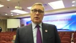 Михаил Касьянов о сотрудничестве с Алексеем Навальным