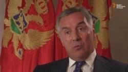 Đukanović: Uplitanje Moskve u Crnu Goru