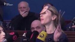 """ირაკლი შოთაძეს """"ივანიშვილის მონა"""" უწოდეს ოპოზიციონერმა დეპუტატებმა"""