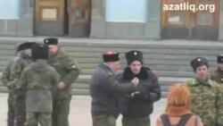 Акмәчеттә Кырымны Русиягә кушу тарафдарлары митингы узды