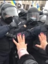 Violence As Ukrainian Entrepreneurs Protest Coronavirus Restrictions