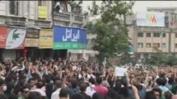 Musavi Supporters Protest In Tehran