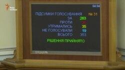 Знову «під ялинку», знову під ранок. Депутати ухвалили бюджет-2016 (відео)