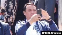 Райымбек Матраимов, бывший заместитель начальника таможенной службы Кыргызстана.