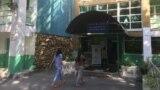 Одно из общежитий Казахского национального университета. Алматы, 18 сентября 2021 года