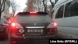 Нейтральный номер на приднестровском автомобиле