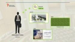 Terenurile parlamentarilor: trei Catedrale pe cap de ales