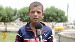 اطفال في بابل يتحدثون عن السعادة