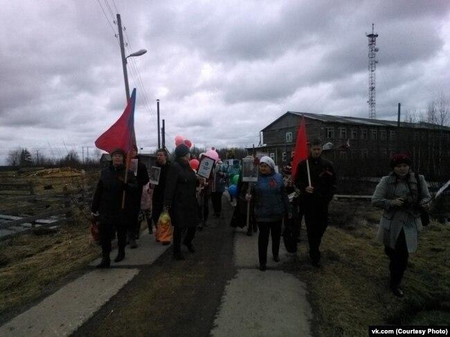 Бессмертный полк в Литвино